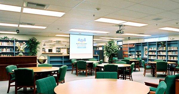 سیستم تهویه مطبوع کتابخانه