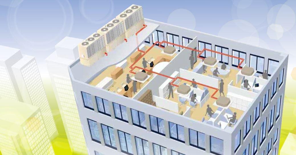 سیستم سرمایشی و گرمایشی Yanmar GHP