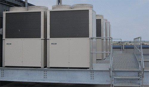 تاسیسات حرارتی و برودتی GHP