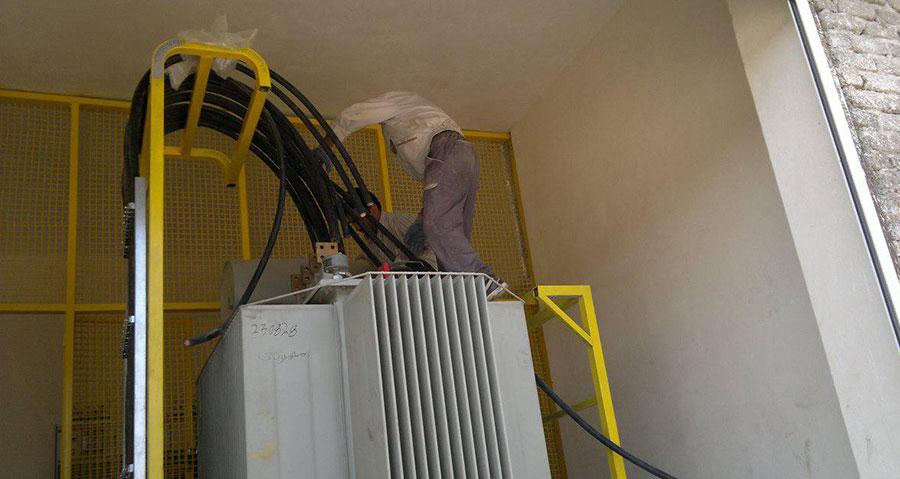پست برق دستگاه های سرمایشی
